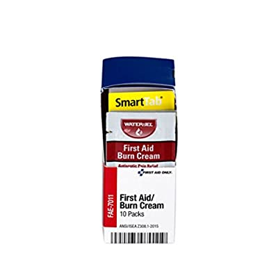 Pac-Kit by First Aid Only FAE-7011 SmartCompliance Refill First Aid Burn Cream, 10 Count by Pac-Kit Acme United