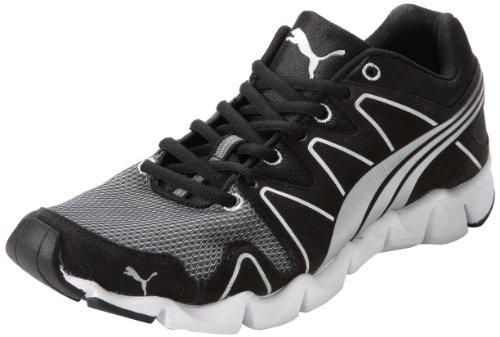 PUMA Mens Shintai Runner MP Running Shoe Black/Puma Silver 2Qvg3