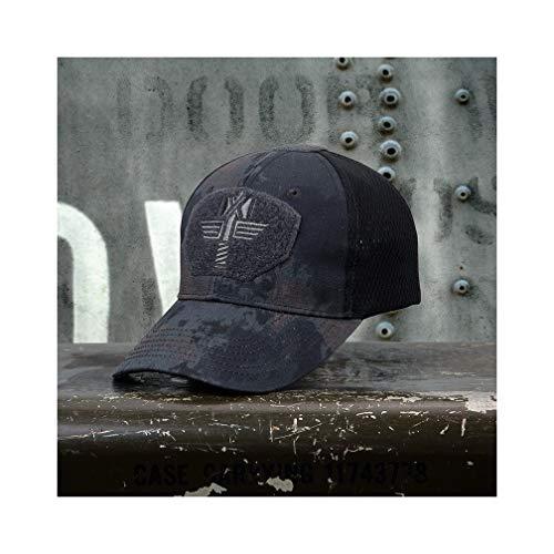 WOFDDH Baseball Cap,Leisure Camouflage Baseball Caps Bionic Breathable Tactical Army Combat Hip Hop Snapback Adjustable Protection Sun Uv Hats,A