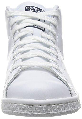 adidas Stan Smith Mid, Zapatillas Altas para Hombre Blanco