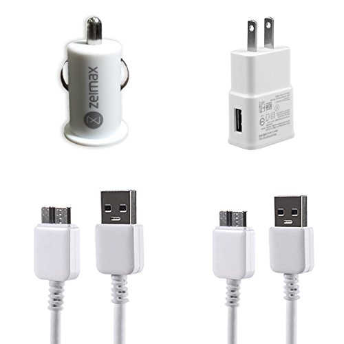 Zeimax-Wall-Car-Charger-Samsung-Cable