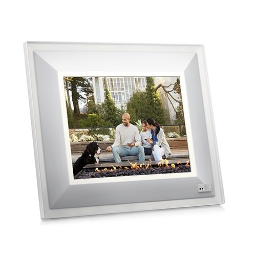 Aura Smart Photo Frame - Beautifully Designed, With Super Easy To Use Connected App - - Mount Res Hi Wall