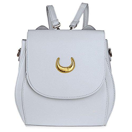 VHVCX Escuela variedad Mochila mujeres bolsos de la PU para los adolescentes niñas mochilas de ocio Mujer Mochila R