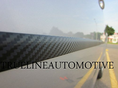 TRUE LINE Automotive Carbon Fiber Door Rocker Molding Trim Kit ()