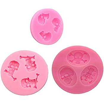 Amazon.com: Moldes de chocolate de labios sexy, colección 3D ...