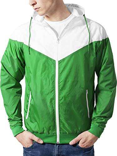 green Antivento Windrunner Classics Arrow Giacca wht Verde Urban Tb148 Uomo IqS8wB8