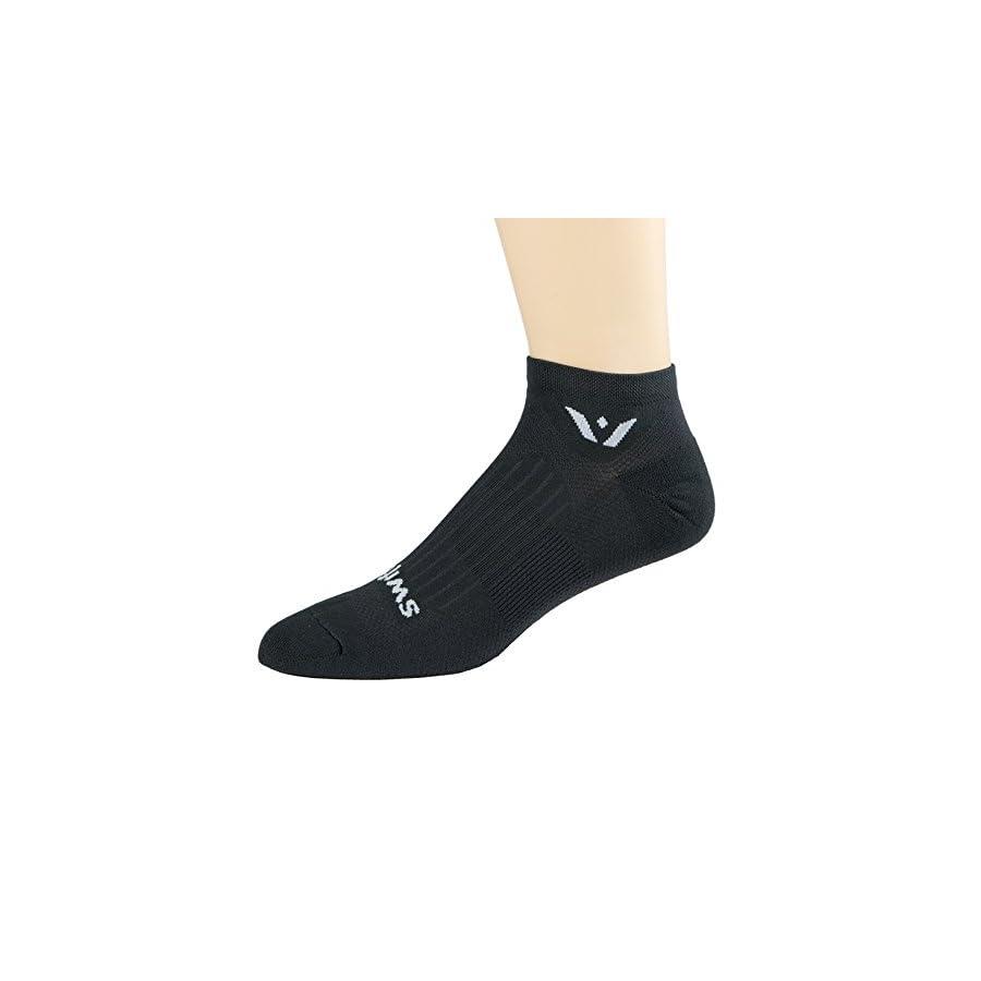Swiftwick ASPIRE ZERO, No Show Socks for Running