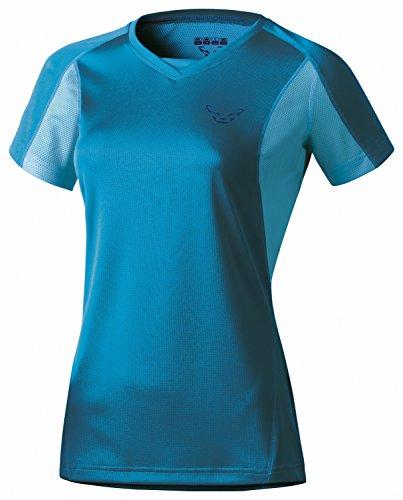 Dynafit Women's Trail Short Sleeve Tee, Chrystal, Medium