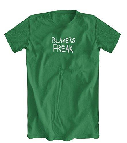 Blazers Freak T-Shirt, Men's, Kelly Green, (Mens Kelly Green Blazer)