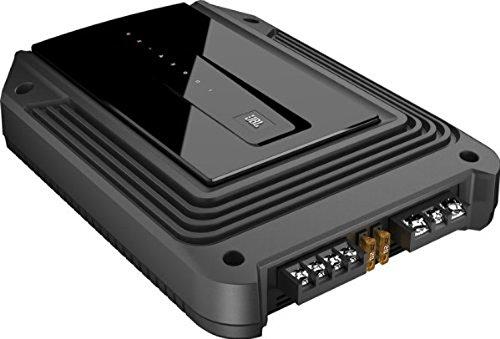 JBL Car GX-A3001 Leistungsstarker und Kompakter 415 Watt Class D Auto-Hifi Mono Subwoofer Voll-Verstärker - Schwarz