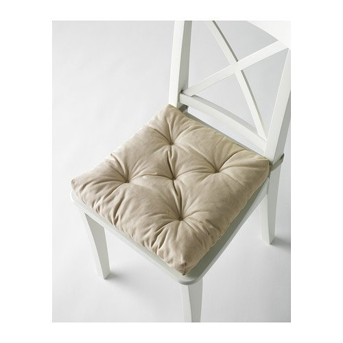 Cuscini Ikea Per Sedie.Ikea Chair Cushion Malinda 40 35 X 38 X 7 Cm Color Light Beige