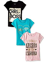 The Children's Place Big Girls and Little Graphic Tees...