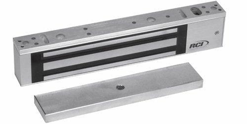 (Rutherford Controls 8371 28 Single Minimag Brushed Anodized Aluminum Electromagnetic Lock, 12/24 VDC (Pack of 2))