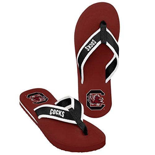 (South Carolina 2013 Mens Contour Flip Flop Small)