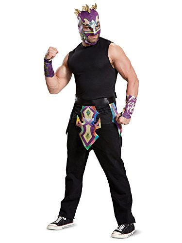 Disguise Men's Kalisto Adult WWE Costume Kit, Multi, One Size -