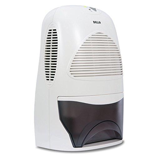 [해외]Della Compact 열 전기 제습기 공간 용 최대 2,200 입방 피트, 수조 휴대용/Della Compact Thermo-Electric Dehumidifier For Spaces Up to 2,200 Cubi