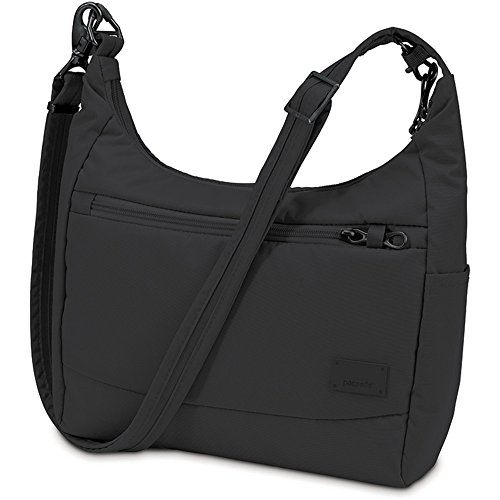 Pacsafe Citysafe CS100 Anti-Theft Travel Handbag, Black