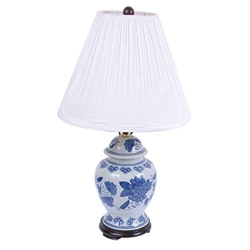 Blue Ginger Jar Lamp - DEI Blue & White Ceramic Ginger Jar Lamp