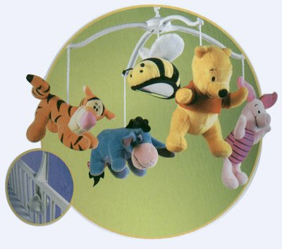 Pooh Musical Mobile (Disney Baby Musical Mobile - Winnie the Pooh)
