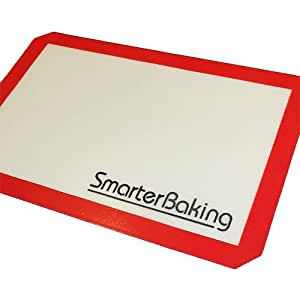 Silicone Baking Mat: Non-Stick Silicone Coating ensures Perfect Baking. Needs no Parchment Paper or Cooking Oils.