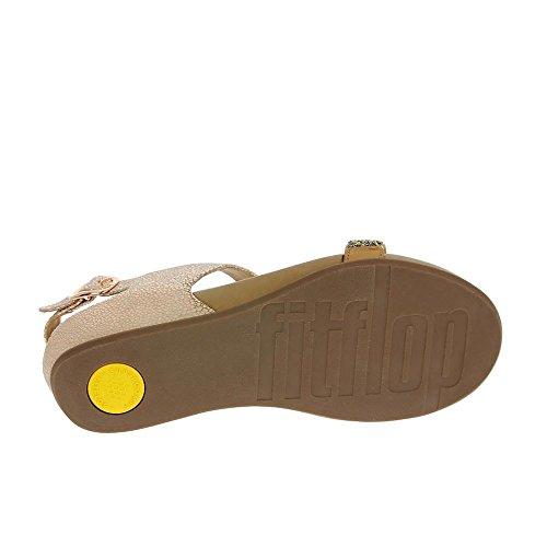 Fitflop Banda Roxy Sandalia Bronce (con Telar De Cintura) Bronze