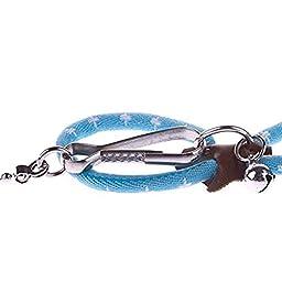 DINGANG Pet Rat Mouse Leash Lead Harness Adjustable Rope Hamster Finder Bell