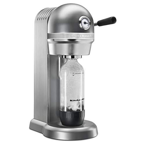 - KitchenAid RKSS1121CU Sparkling Beverage Maker, Contour Silver (Renewed)