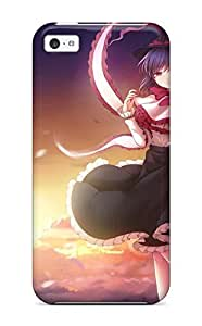 Zheng caseUltra Slim Fit Hard Tasha P Todd Case Cover Specially Made For Iphone 5c- Anime - Touhou