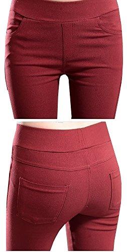 Rojo Mujer Mujer Rojo Pantalón Lueyifs Para Lueyifs Pantalón Para Pantalón Lueyifs xI5wAzqa