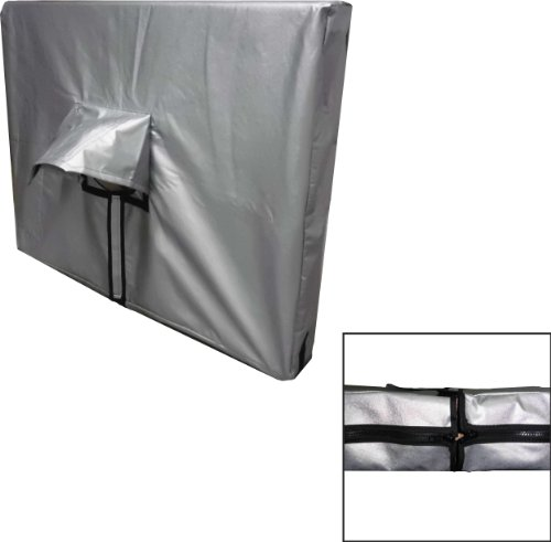 Viziflex Deluxe 32'' Padded Vinyl TV Cover-Zipper Design by viziflex seels