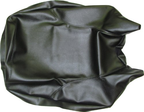 Seat Cover Seat Moto (Freedom County ATV FC184 Black Replacement Seat Cover for Yamaha YFM225 Moto-4 86-88)