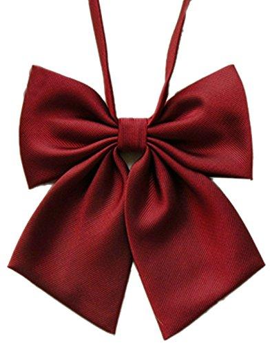 SUKRAGRAHA 1 pc Japan Cosplay Costume School Kid Girl Lolita Style Bow Tie Red