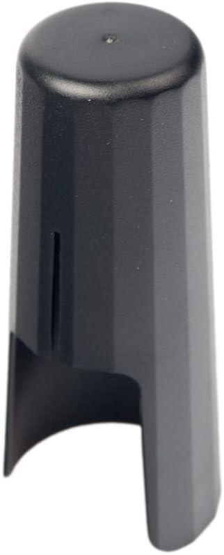 Black Alto Mouthpiece Cap Leather Ligature Fastener Plastic Cap Sax Replacement Parts