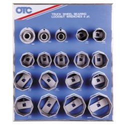 8 Point Wheel Bearing Locknut - 1