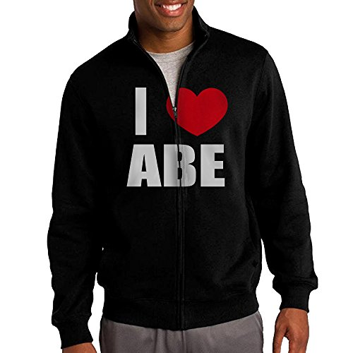 mens-i-love-abe-i-love-abraham-heart-full-zip-fleece-jacket-xl
