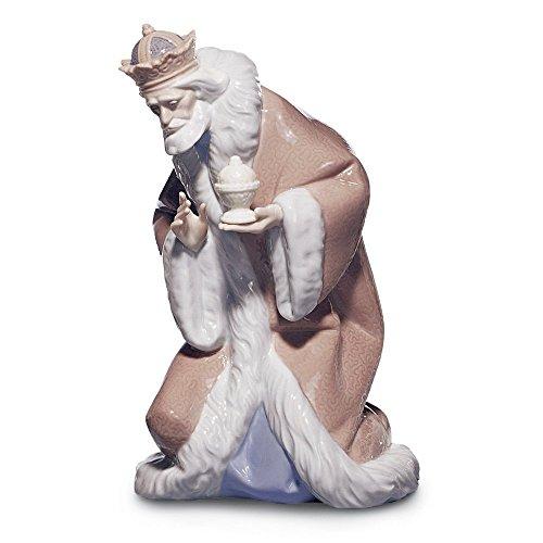 Lladro King Melchior Figurine