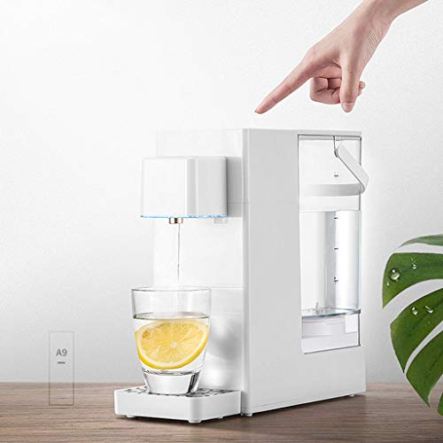 Hot Water Dispensers Home Desktop Mini hot Water Dispenser Office Small hot Water Dispenser Small Household Electric Thermos Bedroom Small Coffee hot Water Dispenser by Combination Water Boilers Warmers (Image #3)