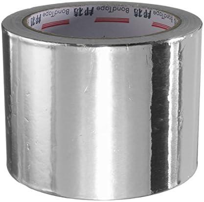 Queenwind 80mm の銀製アルミニウムホイルの接着剤のシールリング加熱ロールテープ25M
