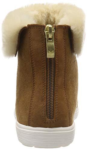 Caprice nut 26402 Donna Comb Suede Stivali Marrone 360 Arricciati wXXpxqrf