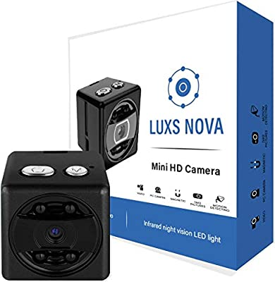... 1080P HD Camera with Infrared Night Vision. Small Body Cam and Convert Wireless Nanny Cam for Car and Home Security. Cop Cam As Seen On TV Tac Camera by ...