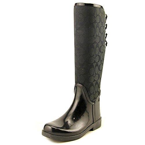 64841d1e Coach Womens Tristee Rain Boot Black/Black Size 10 - Buy Online in ...