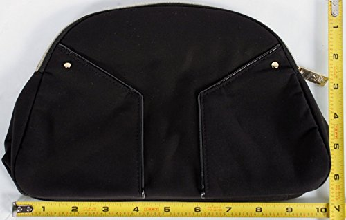 (Yves Saint Laurent Pouch Cosmetic Bag Set Makeup Bag Black Large)