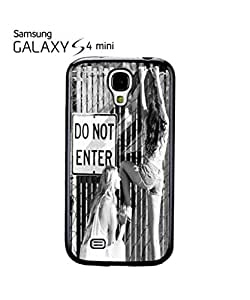 Do Not Enter Sexy Girls Mobile Cell Phone Case Samsung Galaxy S4 Mini White by mcsharks