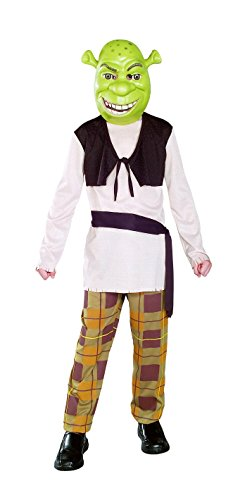 Cheap Kids Halloween Costumes (Shrek Child's Costume With Mask, Shrek Costume)