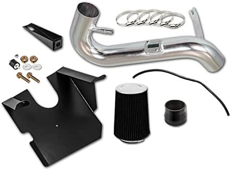 Velocity Concepts Black COLD AIR INTAKE KIT FILTER For Ford 05-09 Mustang Base 4.0L 245Cu In V6 GAS SOHC
