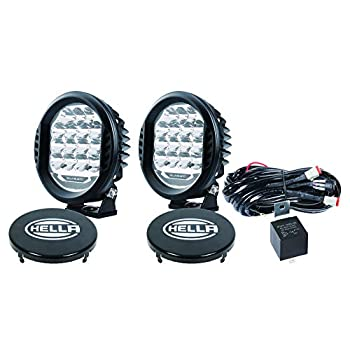 Image of Bulbs HELLA 358117171 ValueFit 500 LED Driving Lamp Kit, 2 Pack