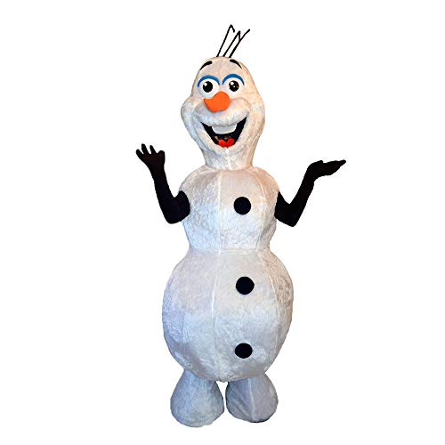 Olaf Costumes Mascot - Olaf Frozen Snowman Mascot Costume Character