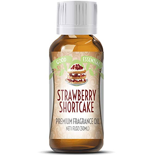 Strawberry Shortcake Scented Oil by Good Essential (Huge 1oz Bottle - Premium Grade Fragrance Oil) - Perfect for Aromatherapy, Soaps, Candles, Slime, Lotions, and More!