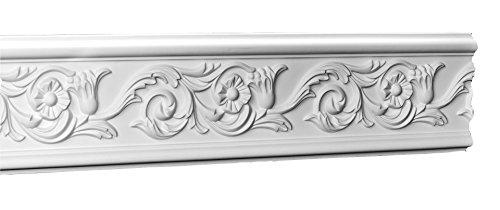 Designer's Edge Millwork DEM-333 Floral Frieze/Panel Moulding 4-3/8