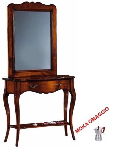 L\'Aquila Design Arredamenti Classico consolle con Specchio Tinta ...